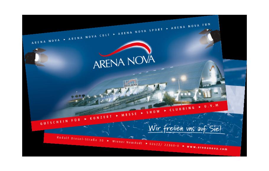 Arena Nova Gutscheine